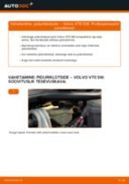 Automehaaniku soovitused, selleks et vahetada välja VOLVO Volvo V70 SW 2.4 D5 Roolivardapea