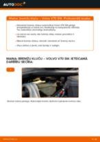 Kā nomainīt: priekšas bremžu klučus Volvo V70 SW - nomaiņas ceļvedis
