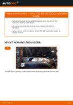 Kā nomainīt: aizmugures bremžu klučus Volvo V70 SW - nomaiņas ceļvedis