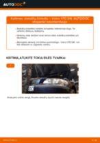 automobilių dalys VOLVO V70 II (285) | PDF Instrukcija remonto
