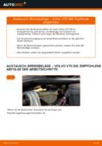 Hochwertige Kfz-Reparaturanweisung für Keramik Bremsbelagsatz Scheibenbremse VOLVO