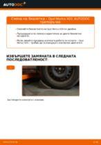Как се сменя предна биалетка на Opel Meriva X03 – Ръководство за смяна