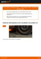 Koppelstang vervangen: pdf instructies voor OPEL MERIVA