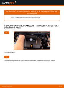 Cum să efectuați înlocuirea: Curea transmisie cu caneluri la 1.4 16V Golf 4