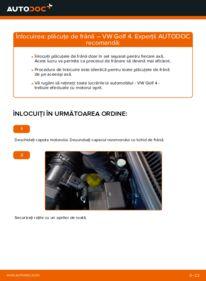 Cum să efectuați înlocuirea: Placute Frana la 1.4 16V Golf 4