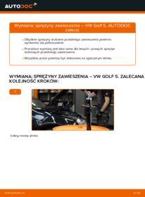 Jak przeprowadzić wymianę: Zawieszenie w VW GOLF