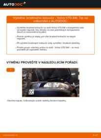 Jak provést výměnu: Brzdovy kotouc na 2.4 Volvo V70 SW