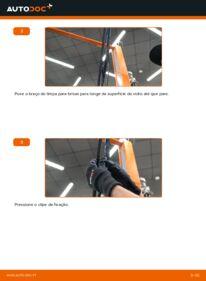 Como realizar a substituição do Escovas do Limpa Vidros no OPEL ? Dê uma olhada no nosso guia detalhado e saiba como fazê-lo