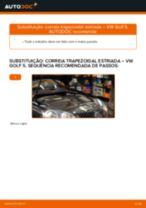 Manual de oficina para VW GOLF II (19E, 1G1)