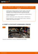 Hátsó féktárcsák-csere VW Golf 5 gépkocsin – Útmutató