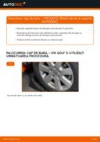 Tutorialul etapizat în format PDF pentru înlocuirea Cap de bara la VW GOLF V (1K1)