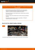 Tutorialul etapizat în format PDF pentru înlocuirea Disc frana la VW GOLF V (1K1)