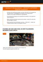 Ersetzen von Bremsscheibe VW GOLF: PDF kostenlos