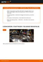 Hvordan bytte Bremseskiver bak og foran VW GOLF V (1K1) - guide online