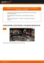 endring Bremsekloss i VW GOLF V (1K1) – tips og triks
