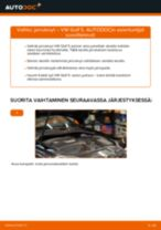Kuinka vaihtaa jarrulevyt taakse VW Golf 5-autoon – vaihto-ohje