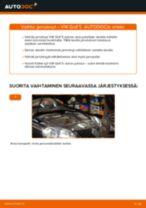 VW GOLF Raitisilmasuodatin vaihto: ohjekirja
