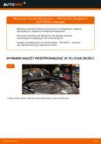 Jak wymienić klocki hamulcowe tył w VW Golf 5 - poradnik naprawy