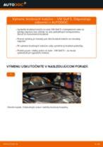 Ako vymeniť zadné brzdové kotúče na VW Golf 5 – návod na výmenu