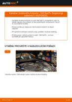 Jak vyměnit zadní brzdové kotouče na VW Golf 5 – návod k výměně