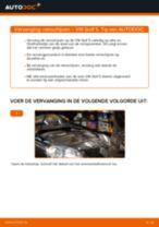 Remschijven veranderen VW GOLF: werkplaatshandboek