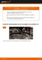 Hoe remblokken achteraan vervangen bij een VW Golf 5 – vervangingshandleiding