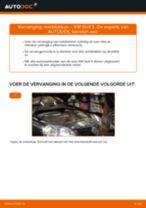 Remblokkenset schijfrem vervangen VW GOLF: gratis pdf