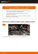 Comment changer : plaquettes de frein arrière sur VW Golf 5 - Guide de remplacement
