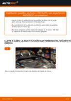 Cambio Cilindro de Freno de Rueda delantero y trasero VW GOLF V (1K1): guía pdf