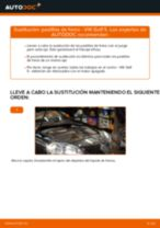 Tutorial paso a paso en PDF sobre el cambio de Bujías de Precalentamiento en VW GOLF V (1K1)