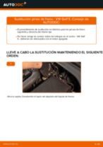 Cómo cambiar: pinza de freno de la parte delantera - VW Golf 5 | Guía de sustitución