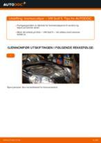 Slik bytter du bremsecaliper bak på en VW Golf 5 – veiledning
