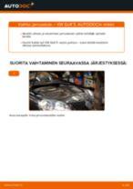 Kuinka vaihtaa jarrusatula taakse VW Golf 5-autoon – vaihto-ohje