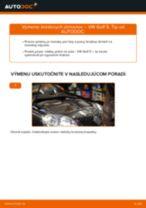 Ako vymeniť zadné brzdový strmeň na VW Golf 5 – návod na výmenu
