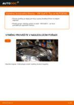Doporučení od automechaniků k výměně VW Golf 5 1.6 Brzdové Destičky