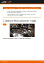 Hátsó féknyereg-csere VW Golf 5 gépkocsin – Útmutató