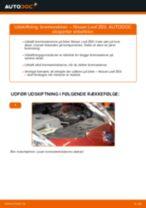 Skifte Fjernlygtepære NISSAN LEAF: værkstedshåndbog