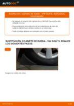 Cómo cambiar: cojinete de rueda de la parte delantera - VW Golf 5 | Guía de sustitución