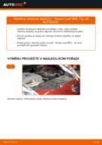 Podrobné PDF tutoriály, jak vyměnit Brzdové Destičky na autě NISSAN LEAF