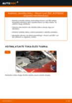 Kaip pakeisti Ašies montavimas HONDA CROSSTOUR - instrukcijos internetinės
