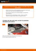 hinten + vorne Bremsbeläge NISSAN LEAF | PDF Wechsel Tutorial