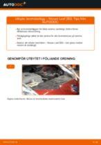 Steg-för-steg NISSAN NV200 reparationsguide
