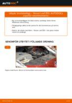 Byta Stabilisatorstag fram höger Nissan Micra k13: guide pdf