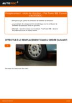 Comment changer : rotule de rirection sur Fiat Punto 188 - Guide de remplacement