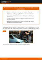 Comment changer : disques de frein avant sur Fiat Punto 188 - Guide de remplacement
