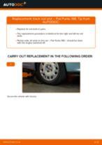 DIY manual on replacing Gasket set brake caliper FIAT PUNTO (188)
