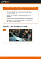 automobilių dalys FIAT PUNTO (188) | PDF Instrukcija remonto
