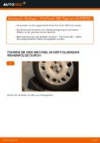 Stabilisator Koppelstange FIAT PUNTO (188) einbauen - Schritt für Schritt Tutorial