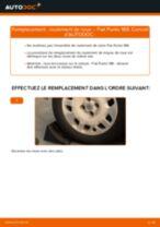 Fiat Punto mk3 199 tutoriel de réparation et de maintenance