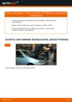Automekaanikon suositukset FIAT Fiat Punto 188 1.2 16V 80 -auton Jarrupalat-osien vaihdosta